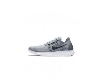 Nike Performance Free Run Flyknit 2 Schuhe Low NIK4dwh-Grau