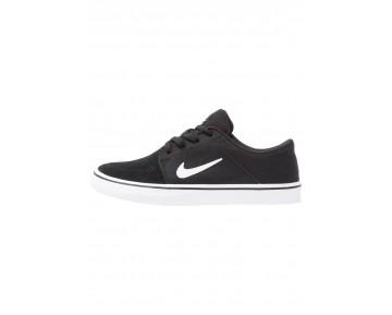 Nike Sb Portmore Schuhe Low NIKtl7f-Schwarz