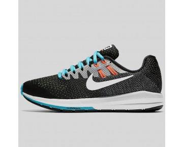 Damen & Herren - Nike Wmns Air Zoom Structure 20 Schwarz Rein Platinum Gamma Blau