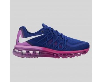 Damen & Herren - Nike Wmns Air Max 2015 tief Königlich Blau Fuchsia