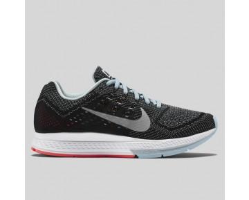 Damen & Herren - Nike Wmns Air Zoom Structure 18 Ice Metallisch Silber Schwarz