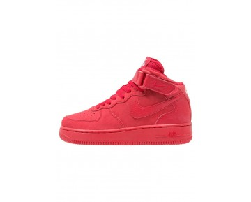 Nike Air Force 1 Schuhe High NIKf0ab-Rot