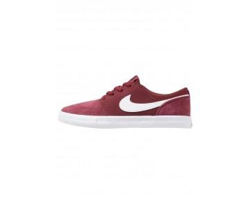 Nike Sb Solarsoft Portmore Ii Schuhe Low NIK2ed3-Rot