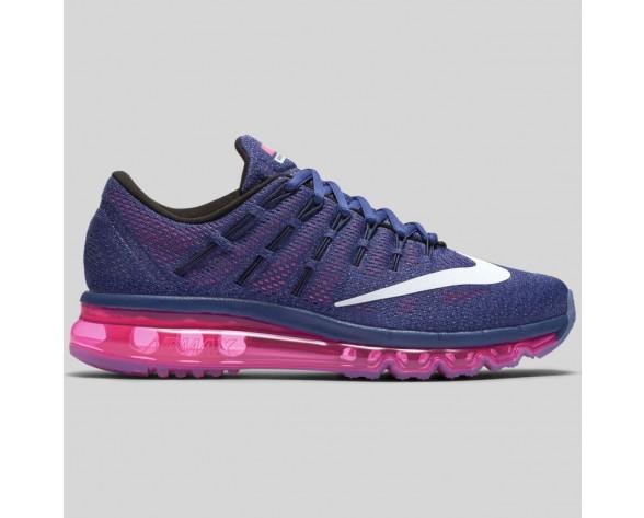 Damen & Herren - Nike Wmns Air Max 2016 Dunkel lila Staub Weiß Pink Pow
