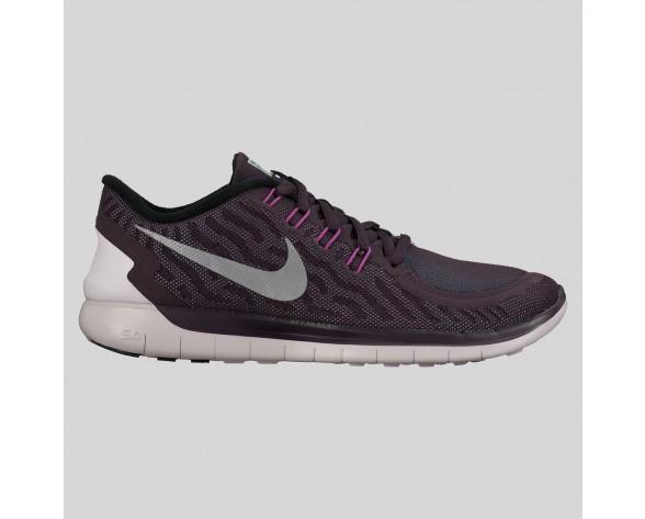 Damen & Herren - Nike Wmns Free 5.0 Flash Nobel lila Spiegeln Silber