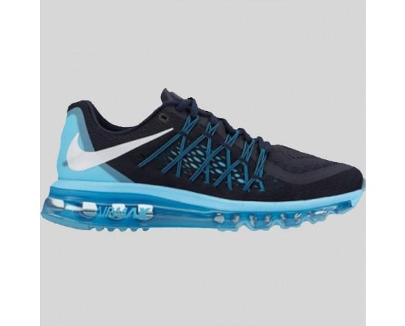 Damen & Herren - Nike Wmns Air Max 2015 Dunkel Obsidian Polar Blau
