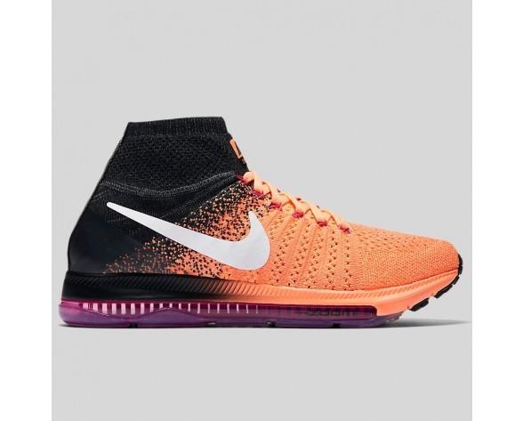 Damen & Herren - Nike Wmns Zoom All Out Flyknit Peach Cream Weiß Pink Fire