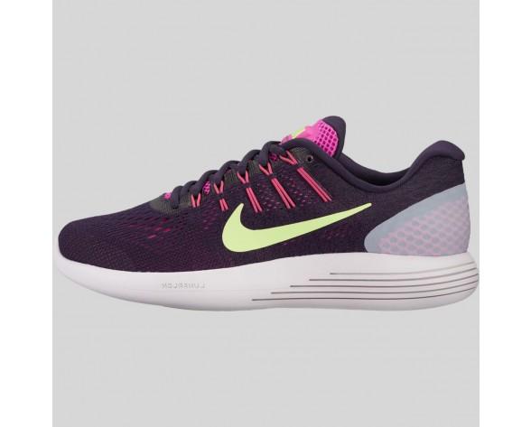 Damen & Herren - Nike Wmns Lunarglide 8 Fire Pink Geist Grün lila Dynasty