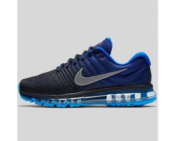 Damen & Herren - Nike Air Max 2017 Dunkel Obsidian Weiß tief Königlich Blau