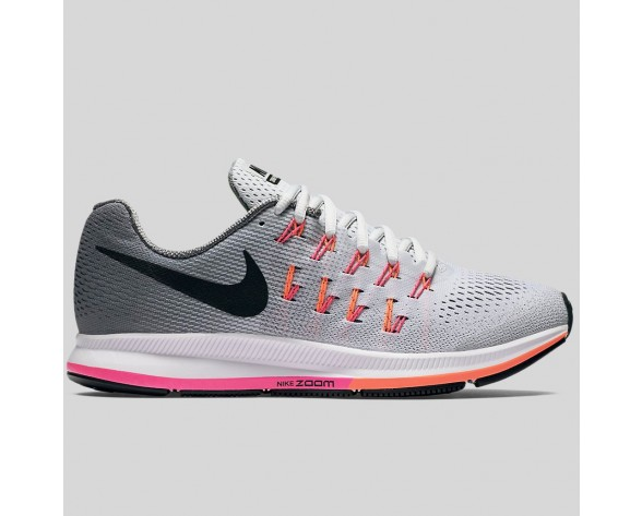 Damen & Herren - Nike Wmns Air Zoom Pegasus 33 Rein Platinum Schwarz Pink Blast