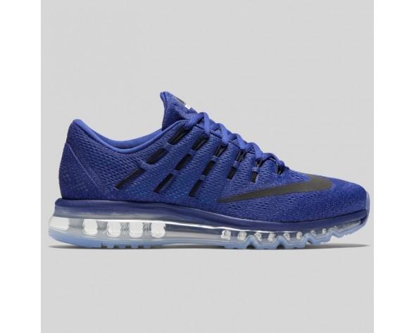 Damen & Herren - Nike Air Max 2016 tief Königlich Blau Schwarz Racer Blau