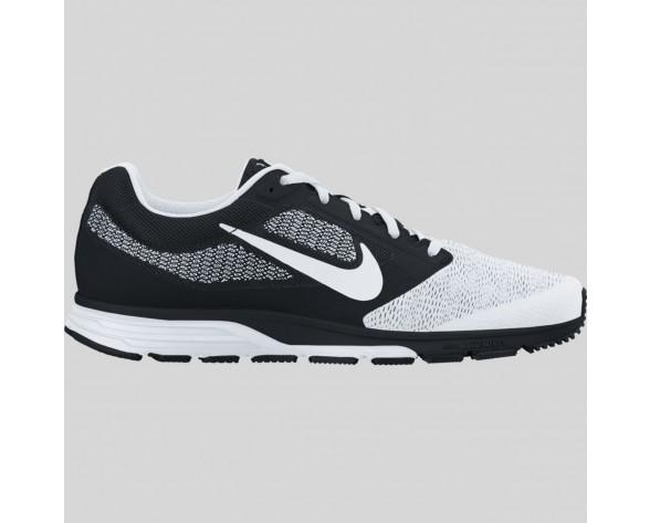 Damen & Herren - Nike Air Zoom Fly 2 Schwarz Weiß Metallisch Silber