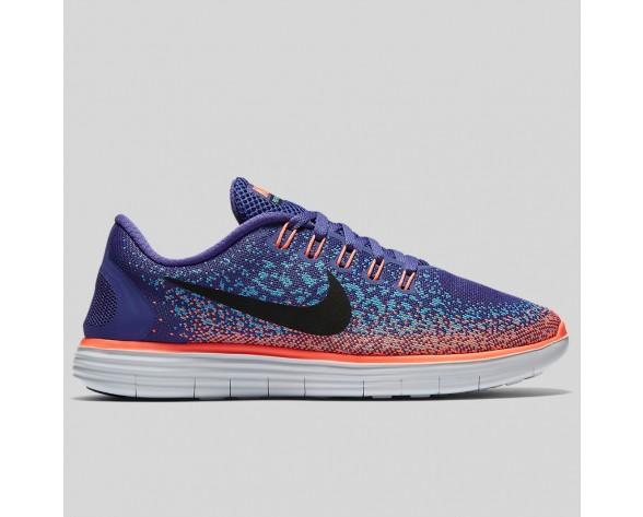 Damen & Herren - Nike Wmns Free RN Distance Dunkel lila Staub Gamme Blau