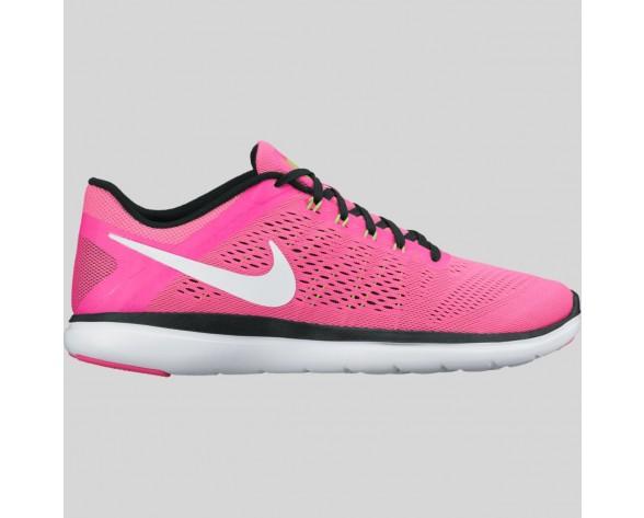 Damen & Herren - Nike Wmns Flex 2016 RN Pink Blast Weiß Schwarz