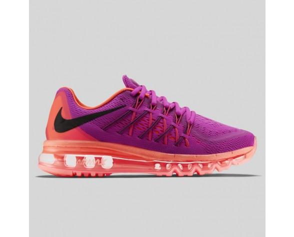 Damen & Herren - Nike Wmns Air Max 2015 Fuchsia Flash Hot Lava