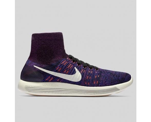 Damen & Herren - Nike Lunarepic Flyknit Vivid lila Total Karmesinrot
