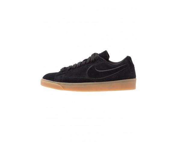 Nike Blazer Low Schuhe Low NIKplu7-Schwarz