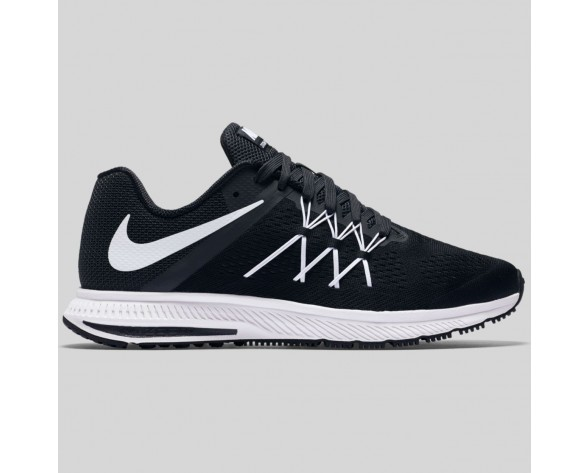 Damen & Herren - Nike Zoom Winflo 3 Schwarz Weiß Anthracite