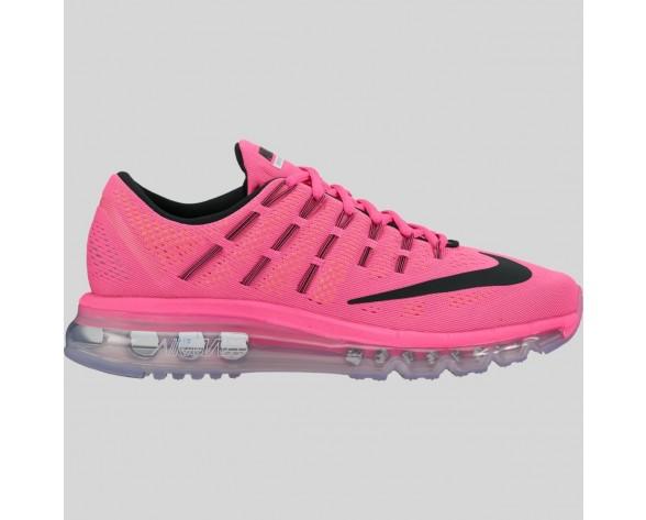 Damen & Herren - Nike Wmns Air Max 2016 Pink Blast Schwarz Laser Orange