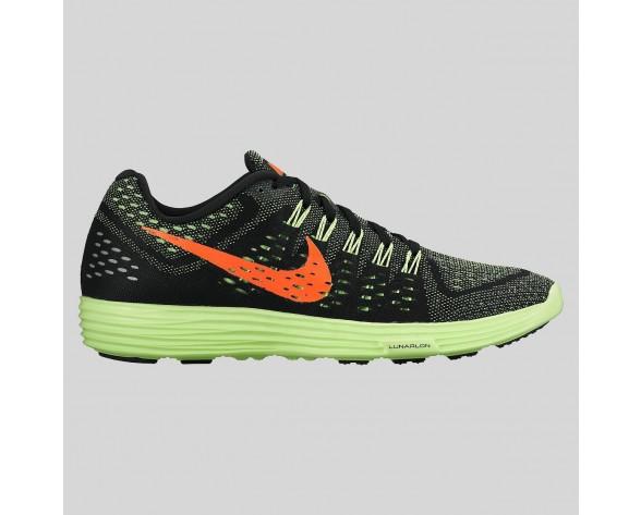 Damen & Herren - Nike Lunartempo Schwarz Hyper Orange Grün Strike