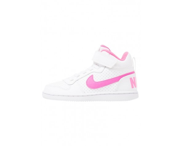 Nike Court Borough Schuhe High NIK1u5d-Weiß