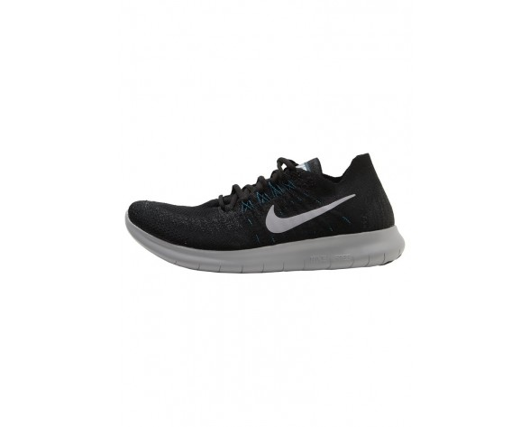 Nike Performance Free Run Flyknit 2 Schuhe Low NIK7gnk-Schwarz