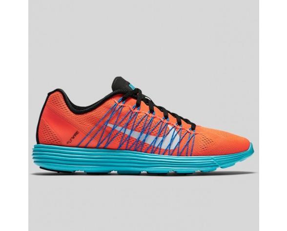 Damen & Herren - Nike Wmns Lunaracer+ 3 Total Karmesinrot Weiß Foto Blau