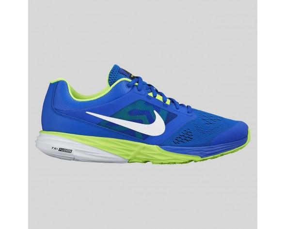 Damen & Herren - Nike Tri Fusion Run MSL Racer Blau Weiß Volt