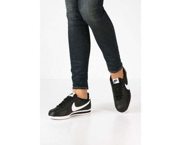 Nike Classic Cortez Schuhe Low NIK0uva-Schwarz