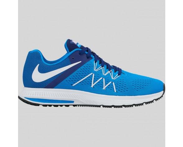 Damen & Herren - Nike Zoom Winflo 3 Foto Blau Weiß tief Königlich Blau