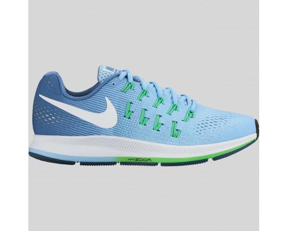 Damen & Herren - Nike Wmns Air Zoom Pegasus 33 Blaucap Weiß Ozean Fog Rage Grün