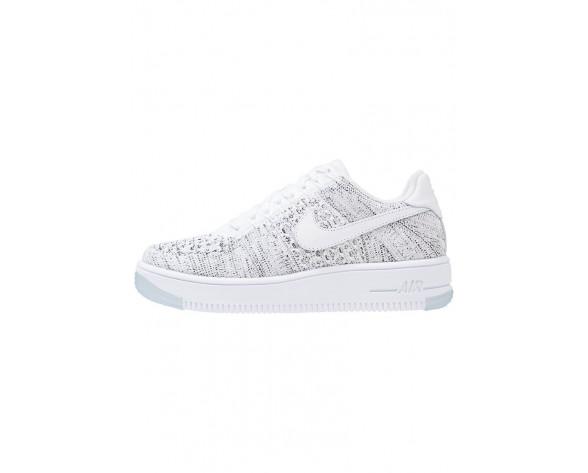 Nike Air Force 1 Flyknit Low Schuhe Low NIKjvgi-Weiß