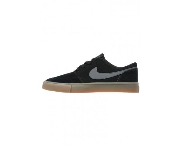 Nike Sb Portmore Ii Schuhe Low NIKo9nh-Schwarz
