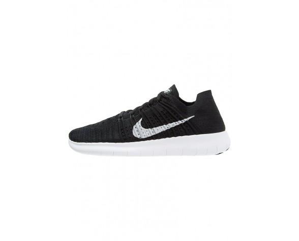 Nike Performance Free Run Flyknit Schuhe NIKz7br-Schwarz