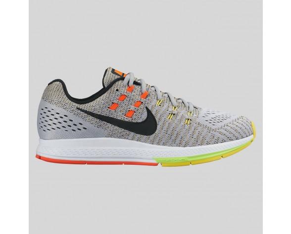 Neu Nike Air Zoom Structure 19 Wolf Grau Schwarz Option Gelb