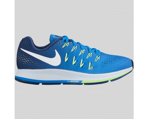 Online Sale Nike Wmns Air Zoom Pegasus 33 Fountain Blau Weiß