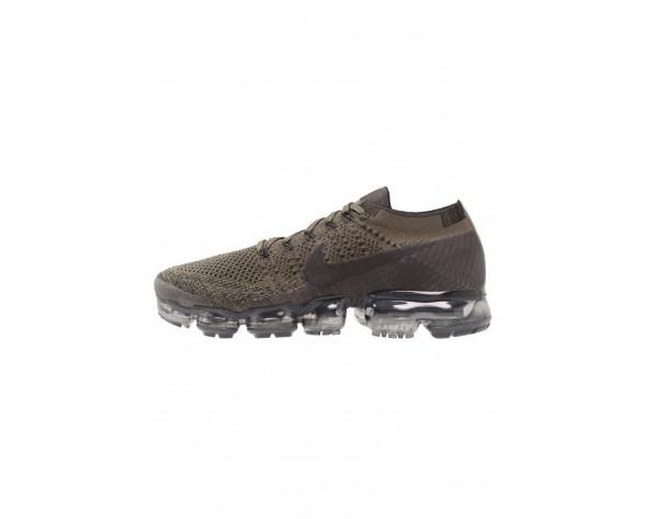 Nike Performance Air Vapormax Flyknit Schuhe NIK5d74-Khaki
