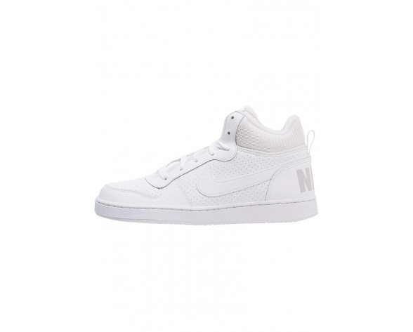 Nike Court Borough Schuhe High NIKof4b-Weiß