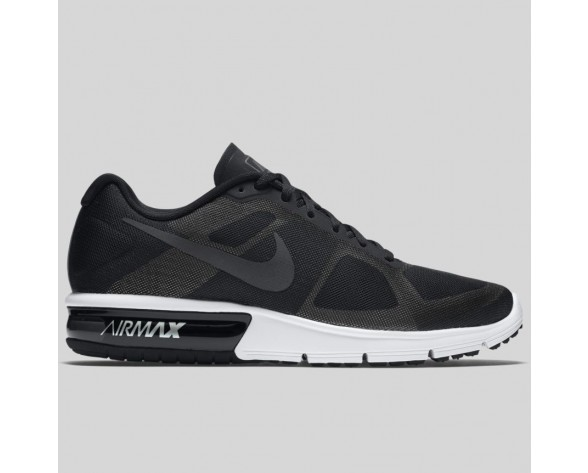 Damen & Herren - Nike Air Max Sequent Schwarz Metallisch Hematite