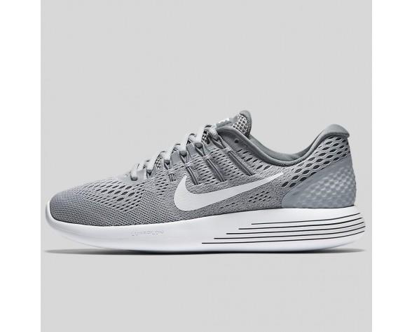 Damen & Herren - Nike Wmns Lunarglide 8 Wolf Grau Weiß Cool Grau