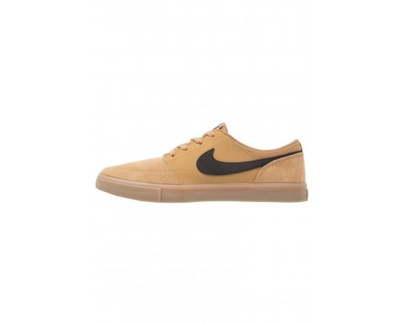 Nike Sb Solarsoft Portmore Ii Schuhe Low NIK21uq-Gold