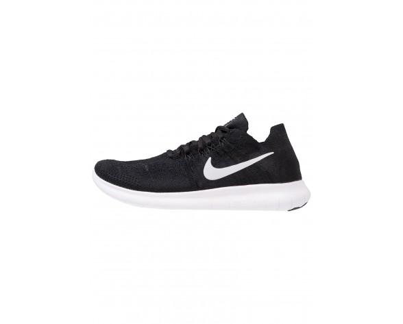 Nike Performance Free Run Flyknit 2 Schuhe Low NIK973e-Schwarz