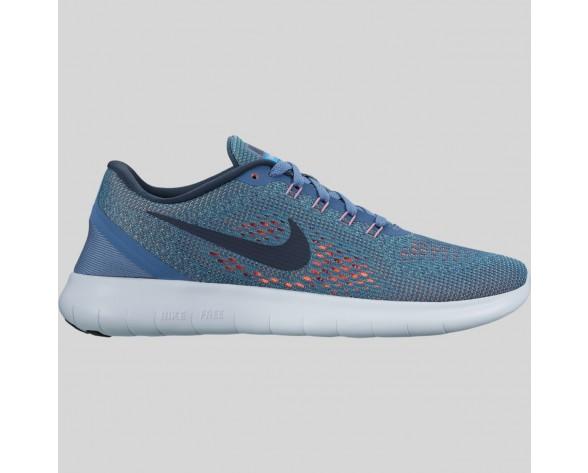 Damen & Herren - Nike Wmns Free RN Ozean Fog Mitternacht Marine Hyper Turquoise