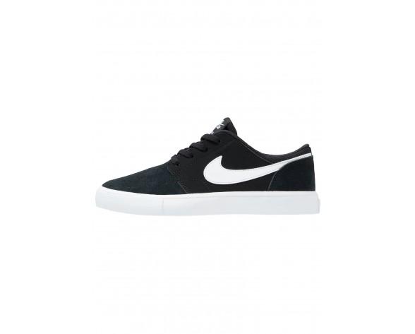 Nike Sb Portmore Ii Schuhe Low NIKgatj-Schwarz