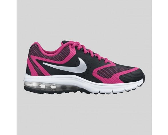 Damen & Herren - Nike Air Max Premiere Run (GS) Schwarz Metallisch Silber Vivid Pink