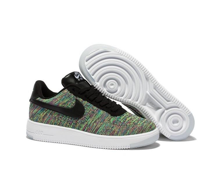 Herren Nike Flyknit Low Force 1 Schuhe Neu Air WEHD9I2