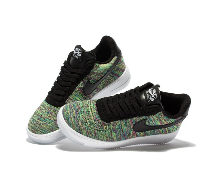Neu Herren Nike Air Force 1 Flyknit Low Schuhe