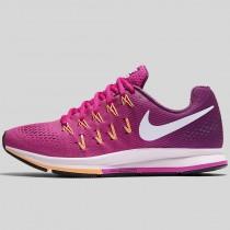 Damen & Herren - Nike Wmns Air Zoom Pegasus 33 Fire Pink Weiß Hell Traube