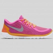 Damen & Herren - Nike Free 5.0 (GS) Pink Pow Hell Citrus