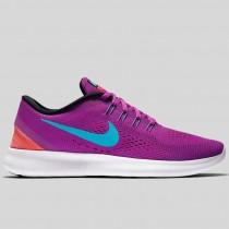 Damen & Herren - Nike Wmns Free RN Hyper Violet Gamma Blau